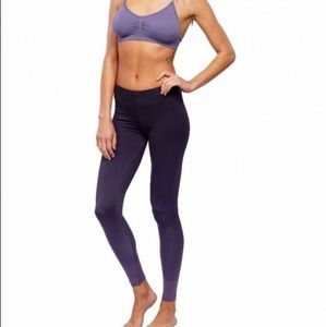 Brand new NUX purple ombré yoga pants